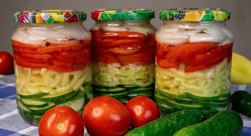 Незвичайно смачний ЛІТНІЙ салат на зиму. БАБУСИН РЕЦЕПТ!