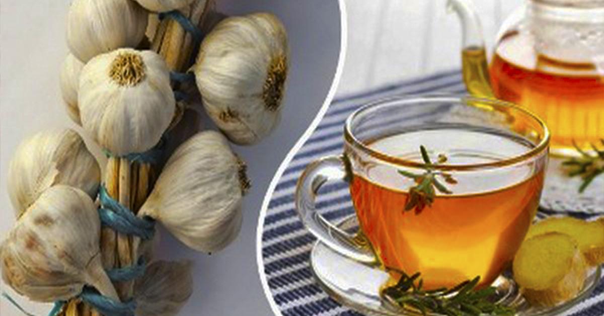 Імбирний чай і часник: від бронхіту, очищення організму і зміцнення імунної системи. Неймовірний ефект!