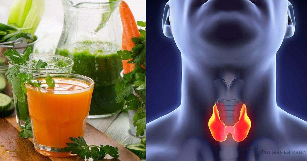 Корисні лікувальні смузі для здоров'я щитовидної залози