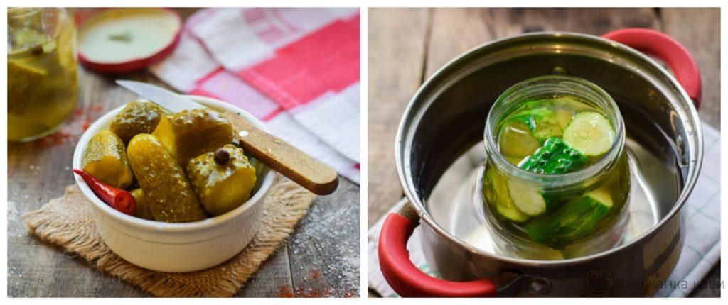 Огірки на зиму по-болгарськи - простий і оригінальний рецепт з покроковими фото