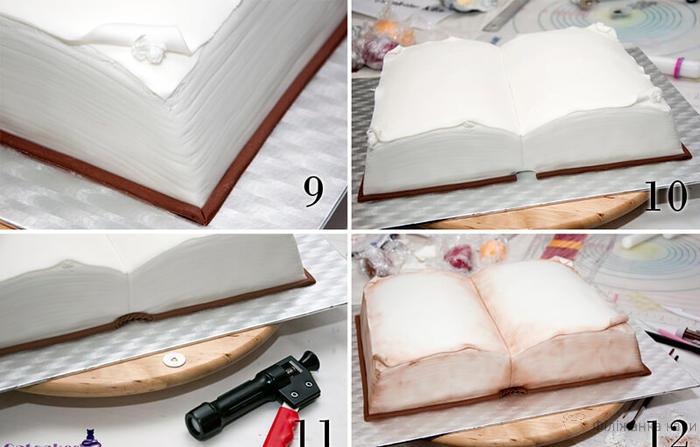 """Що приготувати на 1 вересня: торт """"Книга"""" - торт на 1 вересня фото"""