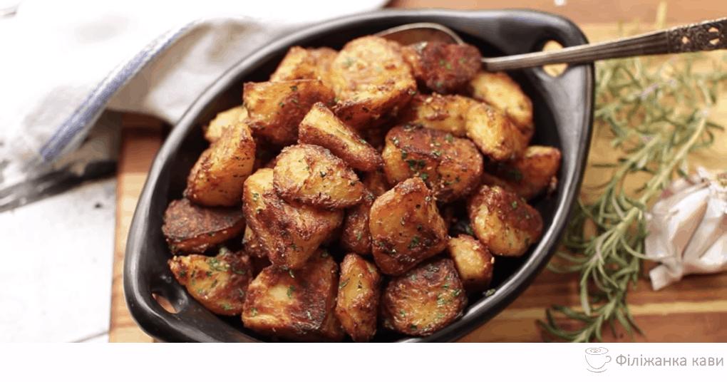 Хрустка і апетитна запечена картопля, яку ви захочете спробувати