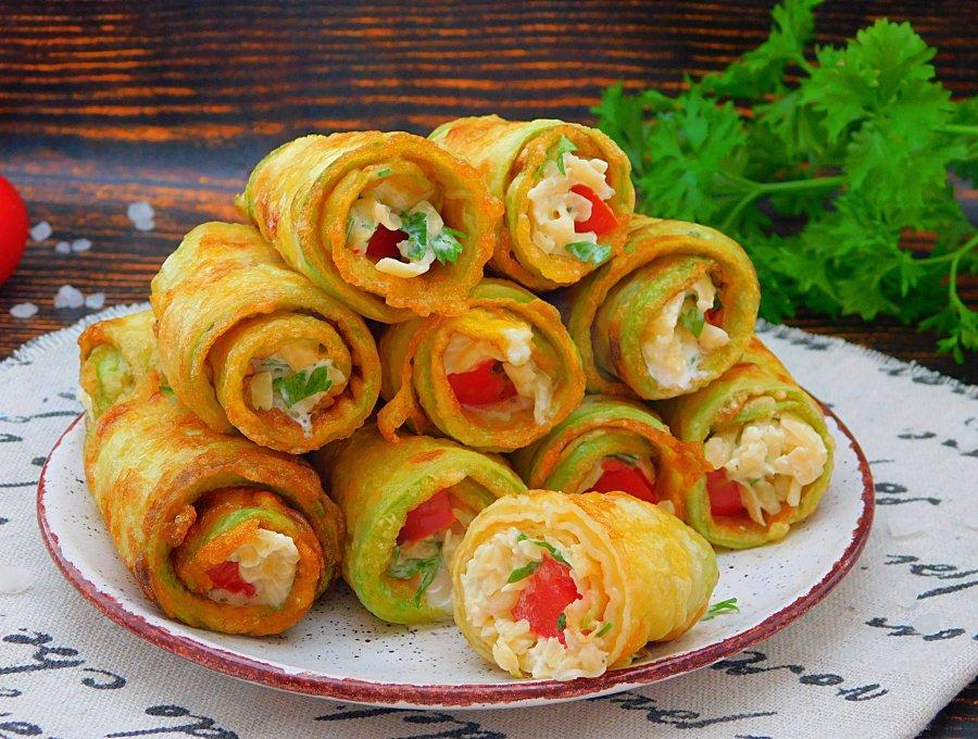 Рулетики з кабачків. Рецепт смачної і швидкої закуски на святковий і повсякденний стіл