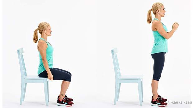 5 простих вправ прискорять циркуляцію крові і лімфи, підтягнуть живіт, руки і сідниці!