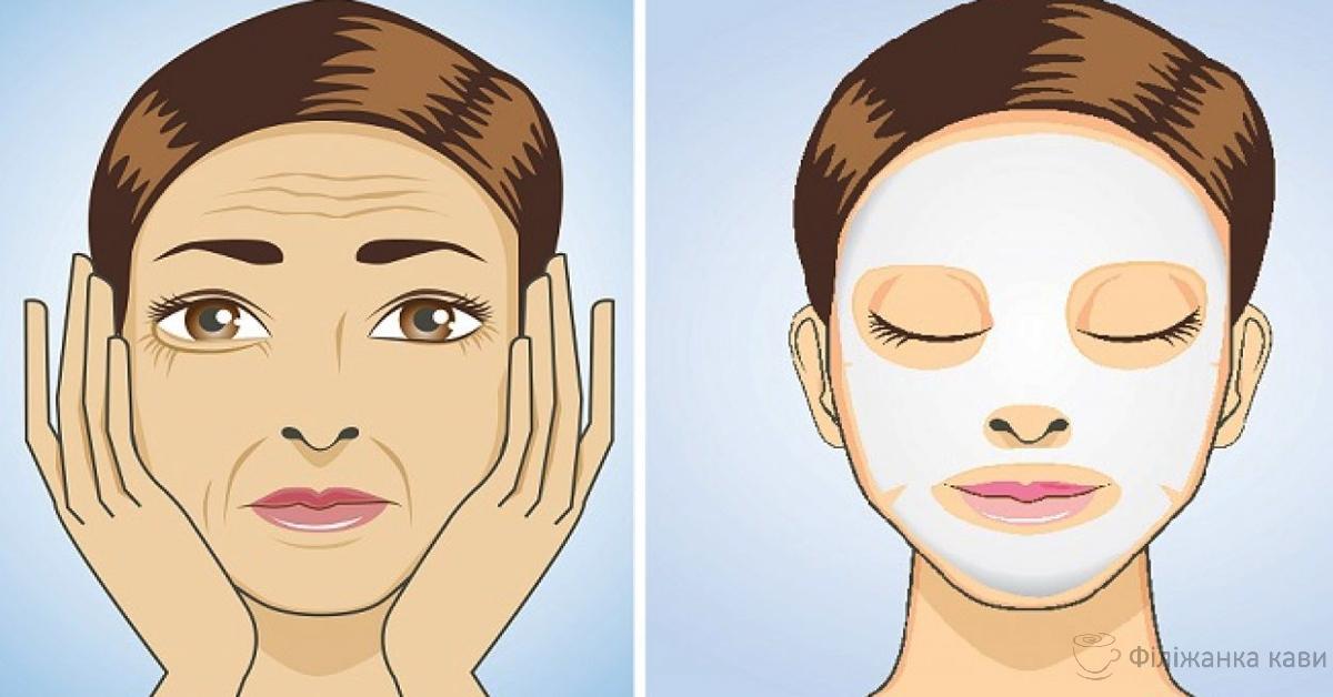 3 вечірніх маски від глибоких зморшок і ваша шкіра буде сяяти молодістю. Ефективність перевірено!