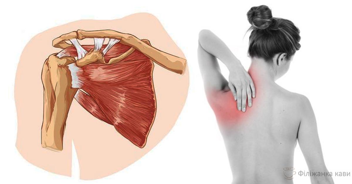 Біль в лопатці: причини і ризики! Особливо важливо знати жінкам і ось чому
