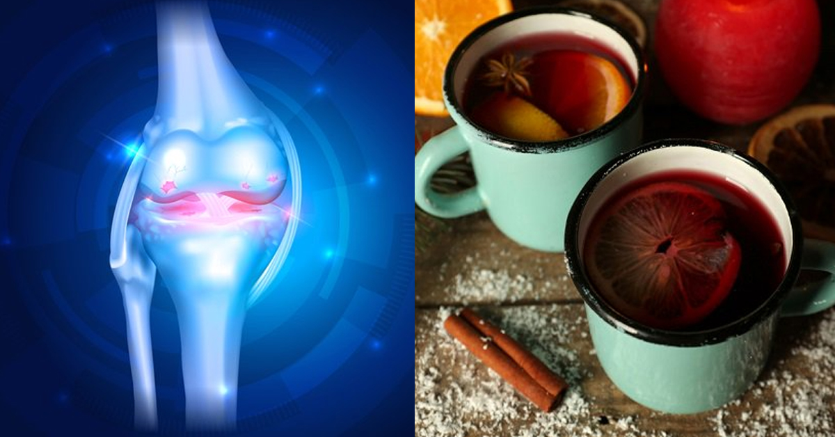 Відновлюємо зв'язки за допомогою натурального напою, який змусить забути про болі!