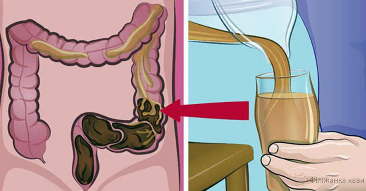 Цей рецепт очистить ваш кишечник від слизу, токсинів і відходів менш ніж за 1 місяць!
