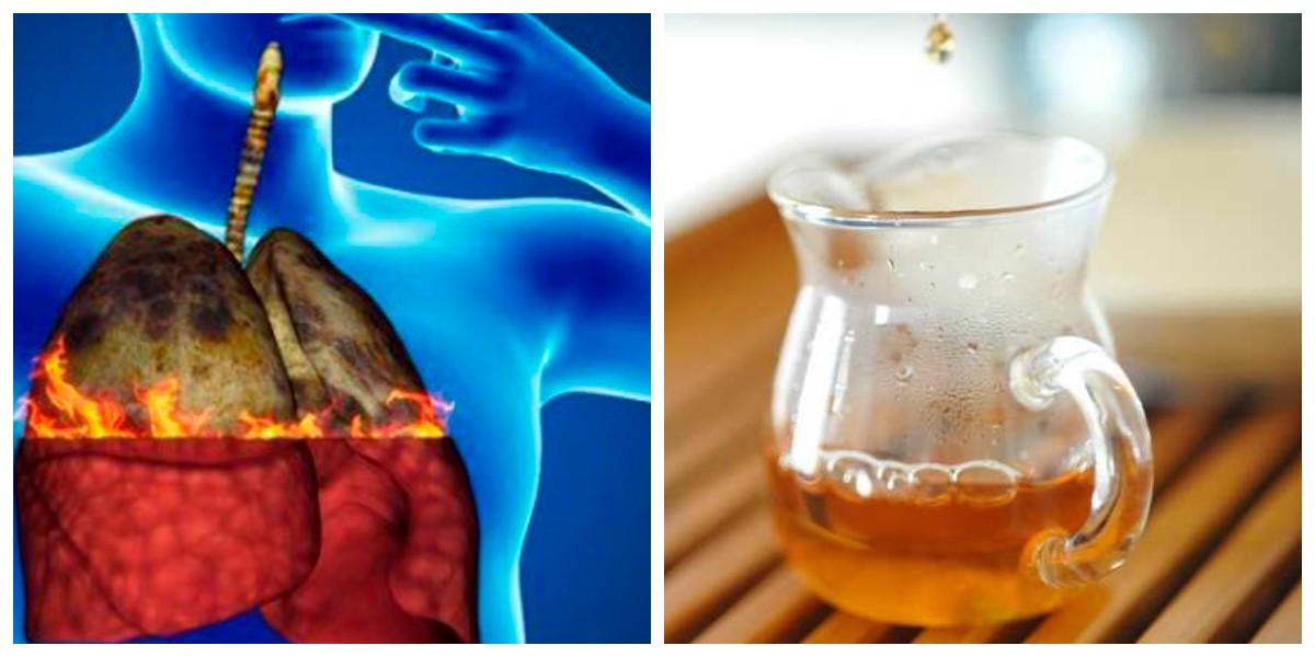 Напій для виведення нікотину та інших токсинів з легень курця!