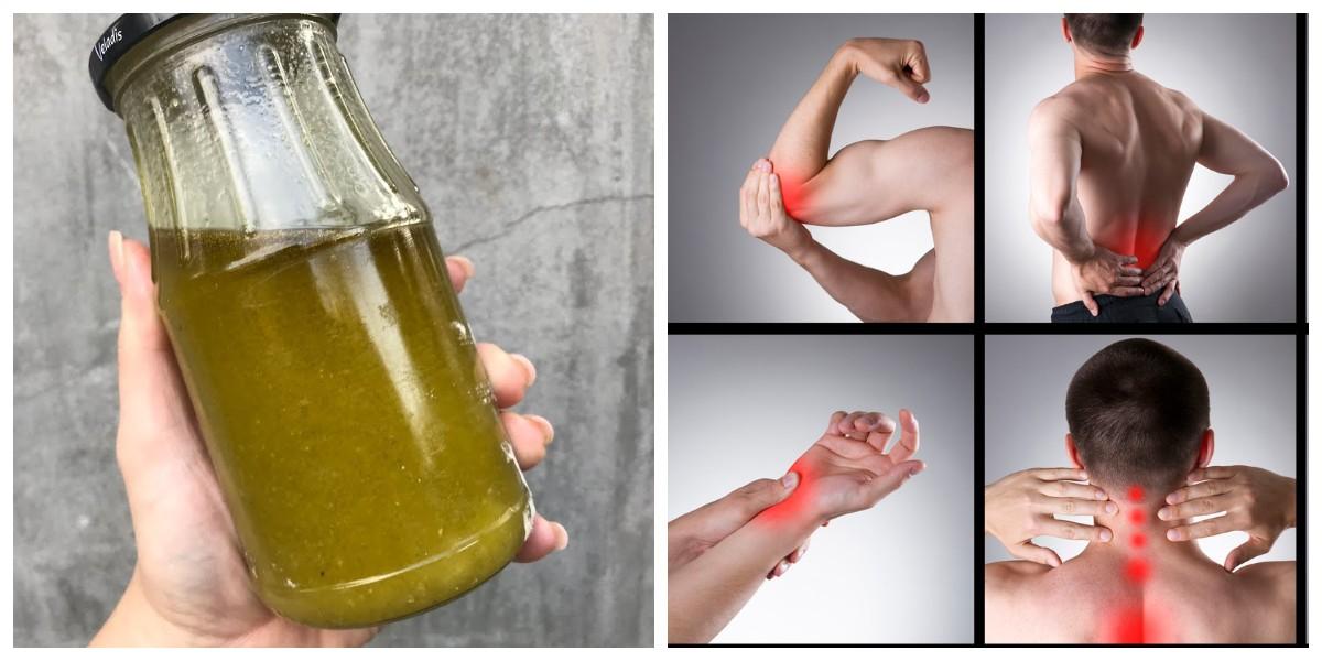 Втираючи цю олійку в хворобливий суглоб, ви миттєво позбудетеся від болю! Відео